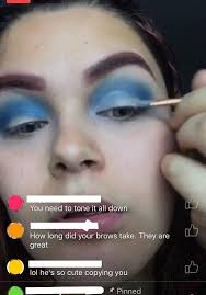 keep getting ed into fb live makeup