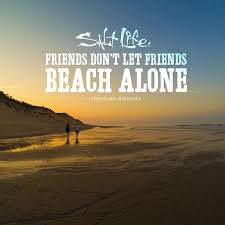 friends don t let friends beach alone beach quotes beach