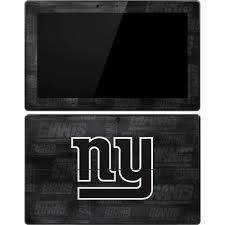 New York Giants Black White Surface Pro Tablet Skin Nfl