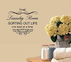 Decal The Laundry Room Sorting Out Life One Load At A Time 22 Wall Or Window Decal 13 X 16 Walmart Com Walmart Com