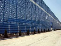 Windbreak Fence With High Wind Reduction To Stop Wind Sand And Hails