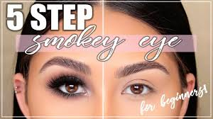 smokey eye tutorial for beginners