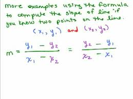 graphing 12 slope between two points