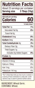 wheat germ nutritious beneficial