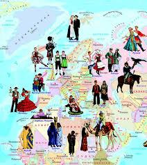 Национальные костюмы некоторых наиболее многочисленных и ...