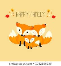 fox family images stock photos