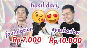 200k makeup challenge indonesia