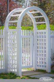 Vinyl Arbor Illusions Fence