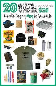 20 gifts under 20 for the vegan men in