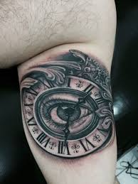 Tattoo Eye And Clock Tatuaze Meskie I Tatuaze