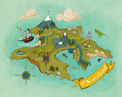 Neverlandmap Whitebg Png 500 396 Map Nursery Nursery Art Prints Nursery Art