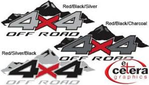 Vehicle Graphics Car Decals Stickers 4x4 Mountain Truck Vehicle Decals
