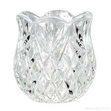 tea light crystal glass