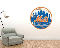 Mets Wall Decal Etsy