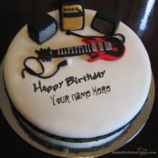 animated birthday cake with name and