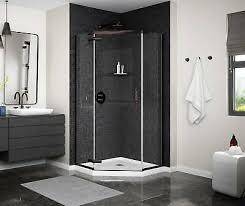neo angle pivot shower door 40 x 40 x
