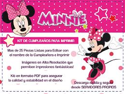 Minnie Mouse Tarjetas De Cumple Para Imprimir Tarjeta De Cumple