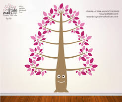 Forest Tree Decal Woodland Wall Tree Decal
