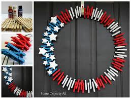 patriotic wreath home crafts by ali