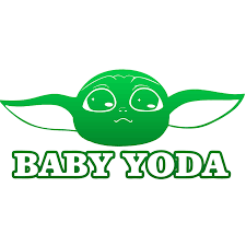 1pcs The Mandalorian Baby Yoda Stickers For Laptop Motorcycle Waterproof Vinyl Decals Stickers Kids Toys Buy At The Price Of 3 00 In Aliexpress Com Imall Com