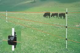Fast Fence Tape Strand Systems Portable Electric Fence For All Types Of Livestock And To Control Wildlife