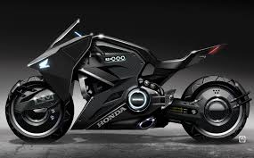 futuristic honda motorcycle to star in