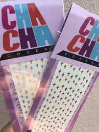 Twinkles Gold Decal Sheet Cha Cha Covers