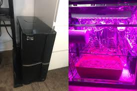 diy pc tower micro grow box first