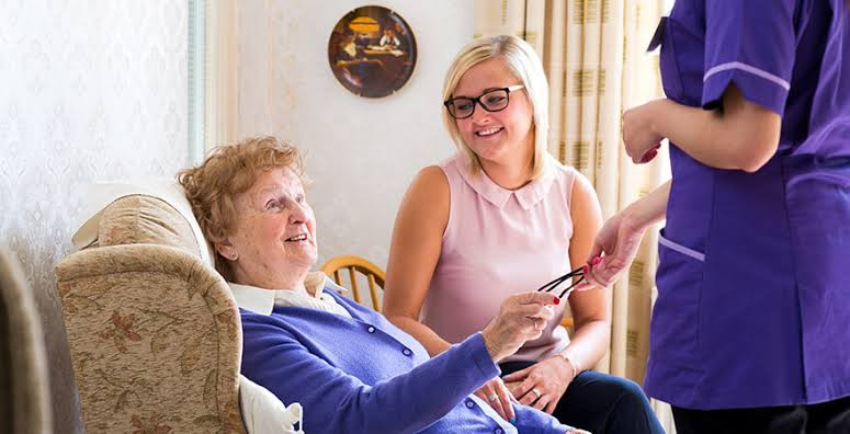 care at home, elder care uk