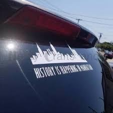 Hamilton Inspired Vinyl Decal Bumper Sticker Etsy