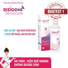 Dung dịch vệ sinh phụ nữ DIZIGONE Sensicare - Hết ngứa, khí hư ...