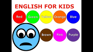 Bé học tiếng Anh với màu sắc, hình dạng, con số và chữ cái (English for  Kids) - YouTube
