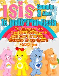 Invitacion Para Fiestas Infantiles Ositos Carinositos 80 00 En