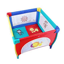 Childrens Play Fence Portable Child Playpen Rectangle Toddlers Play Yard With Door Activity Center Child Play Game Fence Anti Fall Play Pen Red Afsvfp Fr