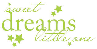 Decal Vinyl Wall Sticker Sweet Dreams Little One Quote Contemporary Wall Decals By Design With Vinyl