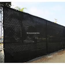 Fencesmart4u Fs0450 85b 4 X 50 Black Uv Rated 85 Blockage Fence Privacy Screen Windscreen Shade Cover Fabric Mesh Tarp W Grommets 145gsm
