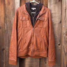 jackets coats brown leather sweater
