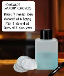 easy natural homemade makeup removers