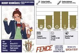 Bobby Rodriguez Fence Comic Wiki Fandom