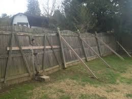 Cedar Fence Post Rotten Easy Replacement Bryant Fence Company