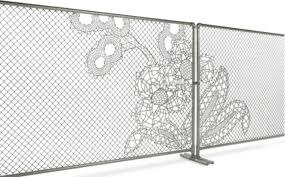 Knitting Chain Link Fencing Into A Work Of Art Bloomberg