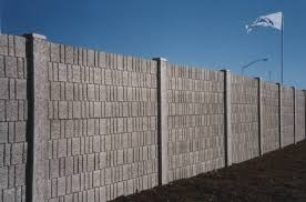 precast concrete fences concrete