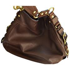 coach authentic leather handbag in