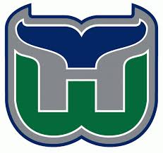 Hartford Whalers Retro Hockey Color Vinyl Sticker Ushirika Coop