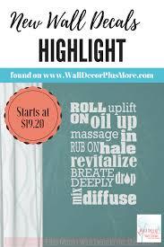 Roll On Uses Oil Subway Art Vinyl Lettering Stickers Healthy Quote Vinyl Lettering Healthy Quotes Lettering