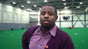 Clemson Head Coach Lawrence Johnson - YouTube
