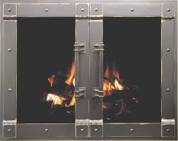 rustic fireplace doors products