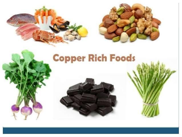 "Image result for copper food"""