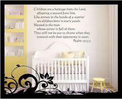 Psalm 127 3 5 Bible Verse Vinyl Decal Etsy
