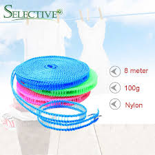 8m Anti Slip Clothesline Convenient Fence Type Portable Outdoor Windproof Clothesline Travel Retractable Rope Washing Line Clotheslines Aliexpress